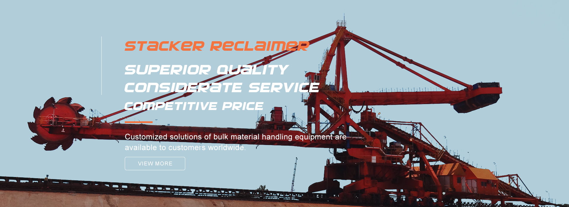 stacker reclaimer