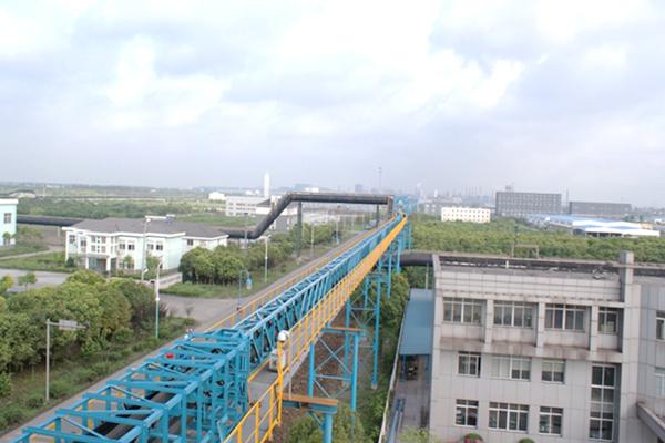 Advantages of pipeline conveyor