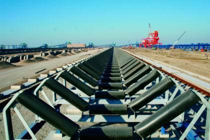 What are the common types of belt conveyor rollers?
